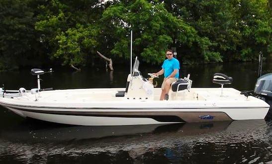 Trout And Redfishing Trip On 2005 Champion Fishing Boat In Houma, Louisiana