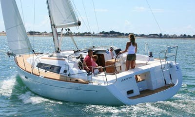 Experience an amazing sailing adventure in Flanders, Belgium on this Yacht!