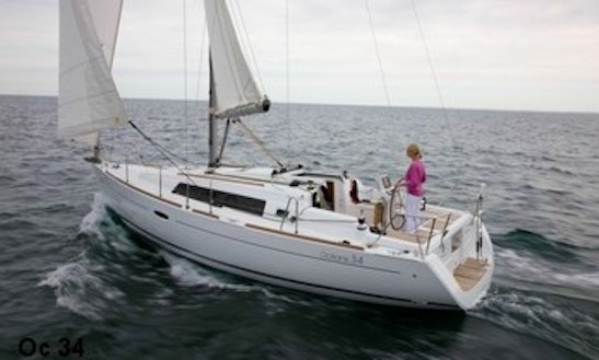 34' Beneteau Oceanis Sailing Yacht Charter In Flanders, Belgium For 8 Person