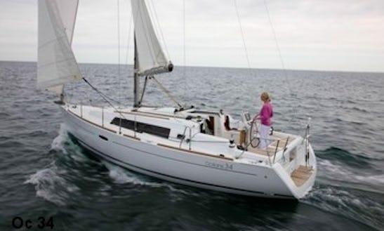 Charter A 2010 Beneteau Oceanis Cruising Monohull In Flanders, Belgium