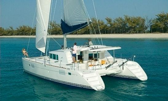 44' Cruising Catamaran Charter In Fort Lauderdale, Fl