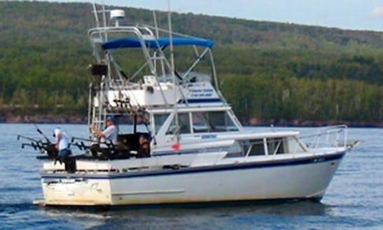 32' Sport Fisherman Charter In Duluth, Mn