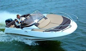 Rent a Galia Deck Boat in style with family and friends!