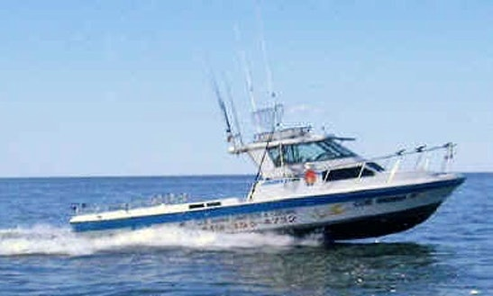 30' Sport Craft Fishing Charter In Oak Harbor, Ohio