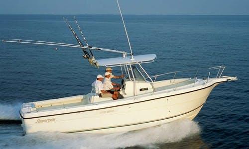"27ft ""Shamrock"" Center Console Boat Charter with Captain Matt in New Shoreham, Rhode Island"