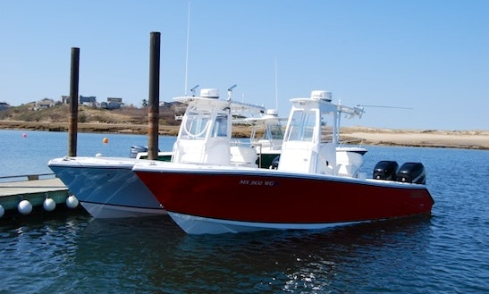 26ft Center Console Boat Rental In Truro, Massachusetts