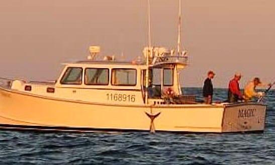 36' Sport Fisherman Charter In Harwich, Massachusetts