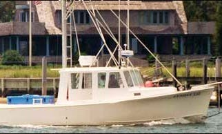 36ft Sportfisherman Boat Charter in Yarmouth, Massachusetts