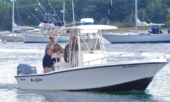 Fishing Charter In New Castle, New Hampshire With Captain Peter