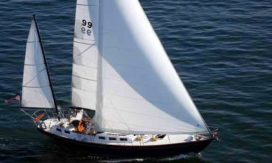 48ft Sparkman & Stevens Cruising Monohull Boat Rental In Northport, New York