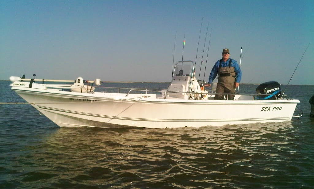 23' Center Console Fishing Boat in the Georgia Isles