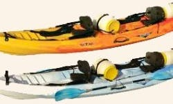 Tandem Kayak Rental in the British Virgin Islands