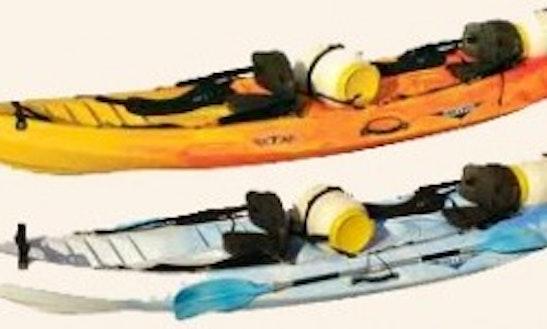 Kayak Rental In The British Virgin Islands