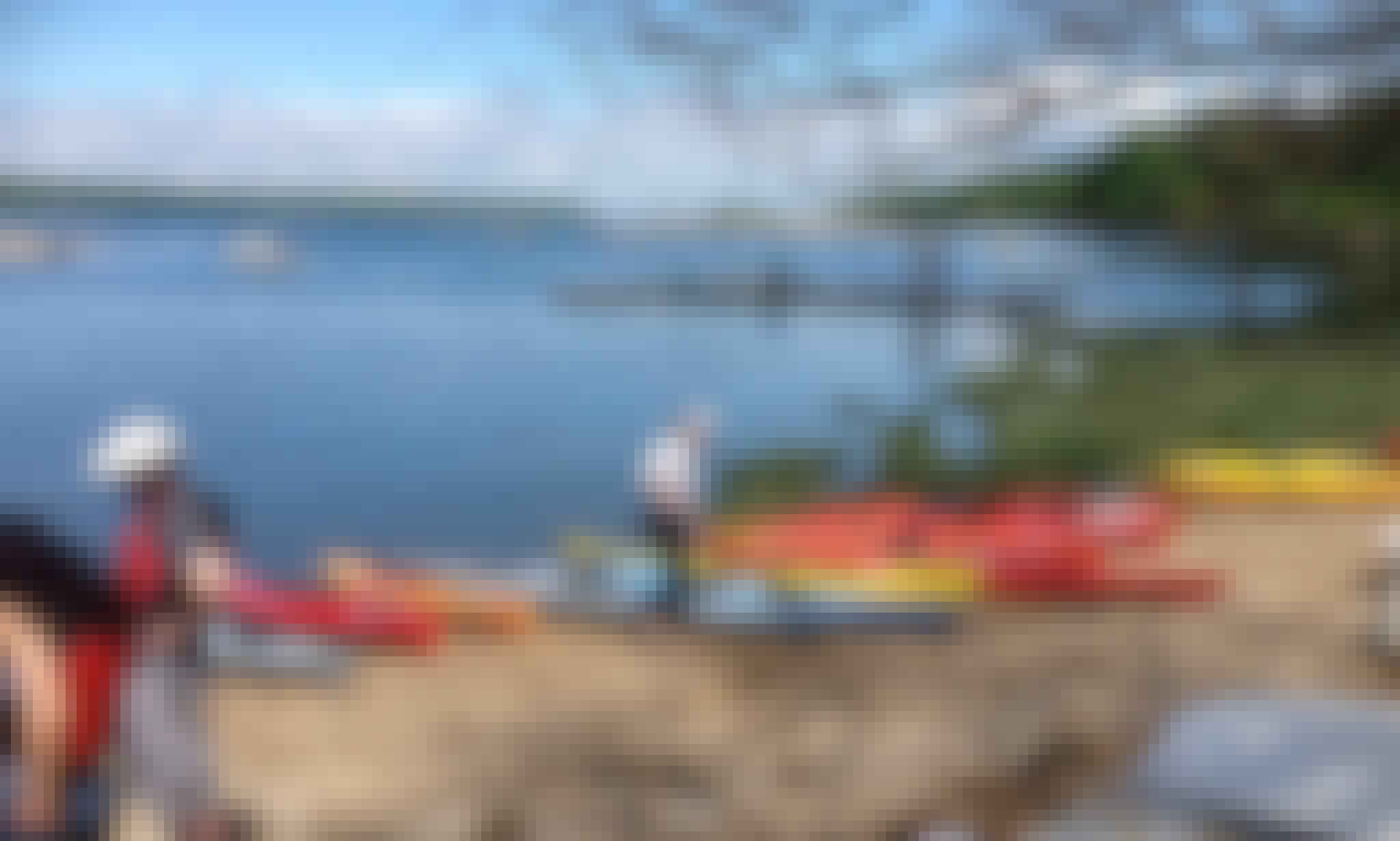 1 Hr. Guided Kayak Tour in Cold Spring Harbor