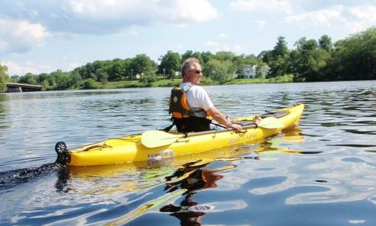 Single Person Kayak Rental On The Finger Lakes