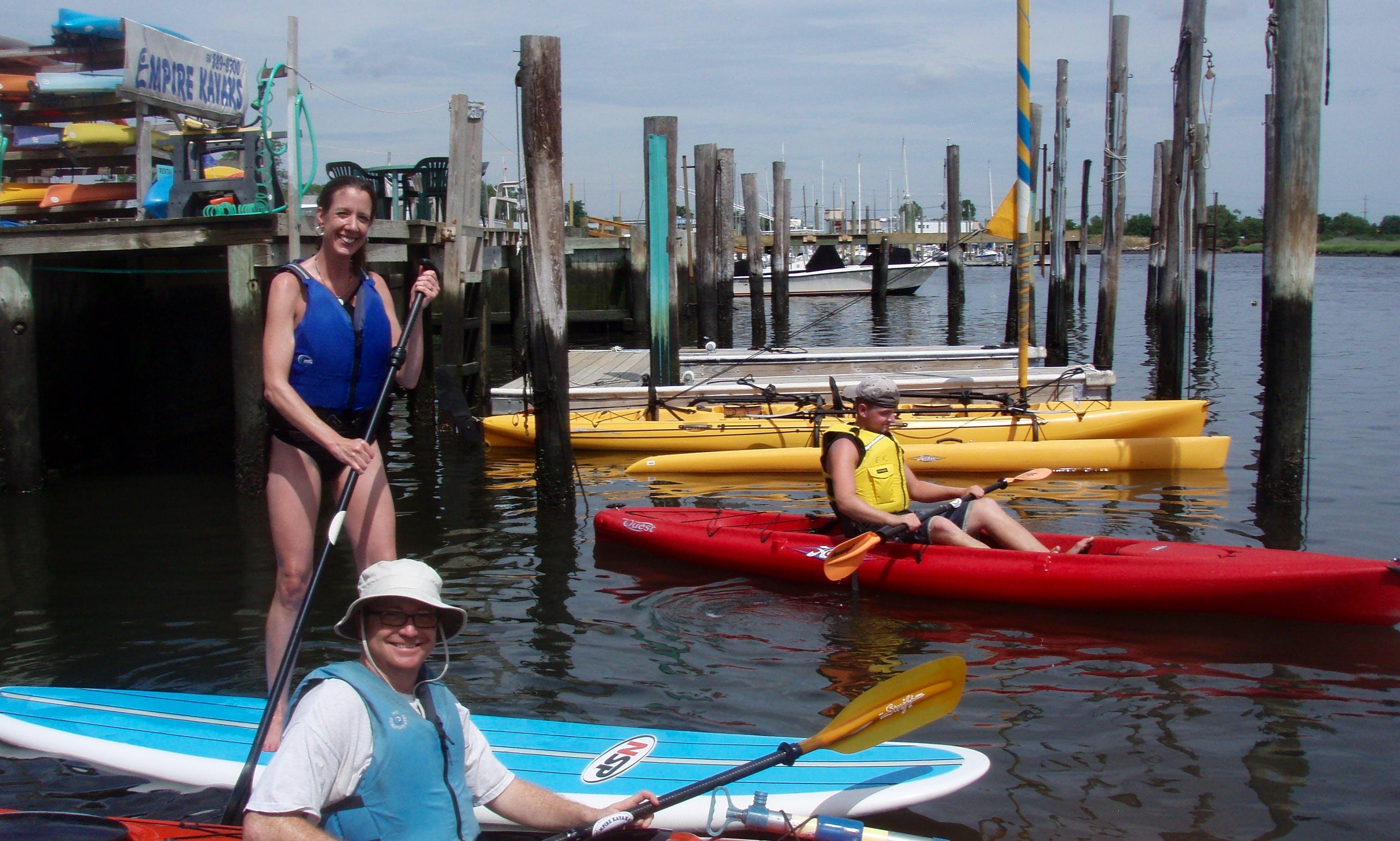Kayak Rental in Island Park