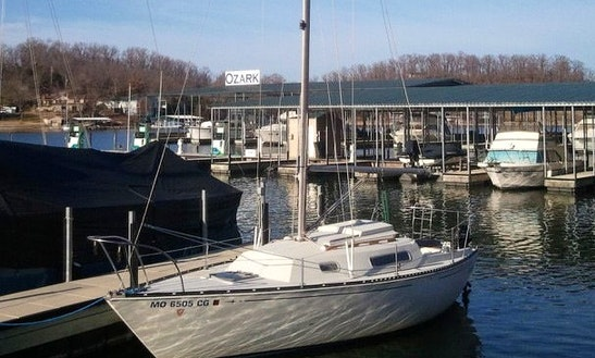 24' C&c Sailboat Rental In Lake Ozark