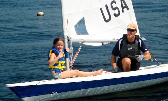 14' Laser Sailboat Rental In Lake Ozark