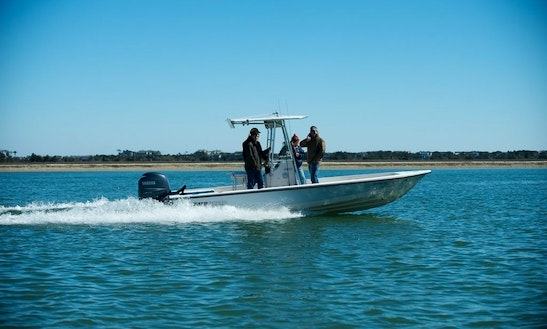 24ft Center Console Boat Fishing Charter In Isle Of Palms, South Carolina