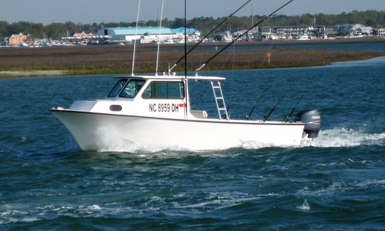 Enjoy Fishing In Wrightsville Beach North Carolina With Captain Perry