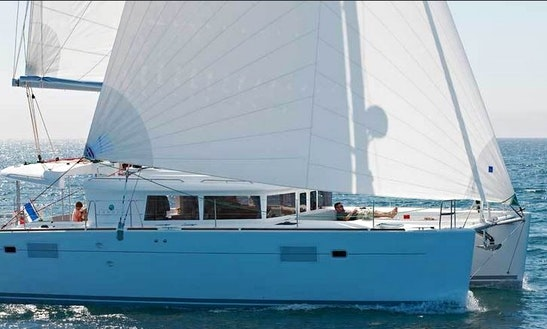 Charter A Lagoon 450 Catamaran In Port Santa Lucia, France