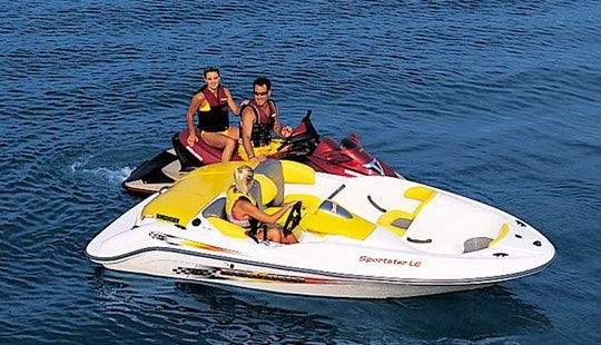 15' Sea-doo Sportster Rental On Lake Joseph, Ontario