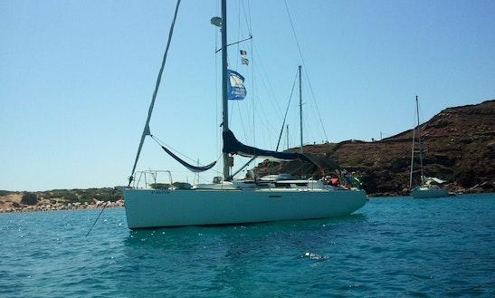 Cruising Monohull Rental In Menorca With Skipper