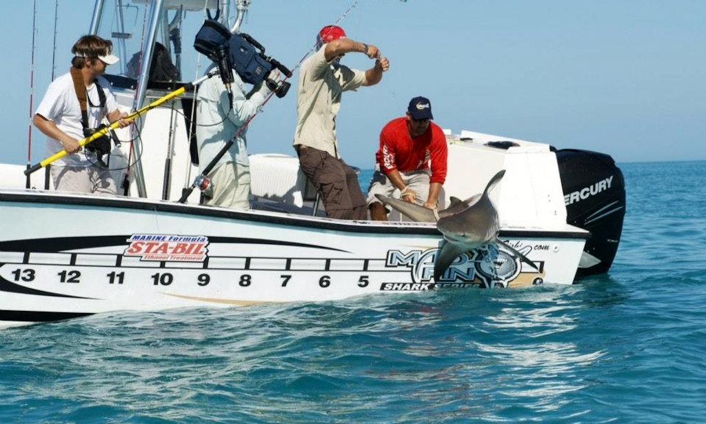 Fishing charters on 28ft center console in key west for Key west florida fishing trips