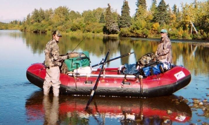 Row Boat Rental & Fishing in Sterling, Alaska