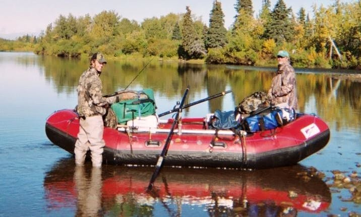 Row Boat Rental & Fishing in Sterling, Alaska