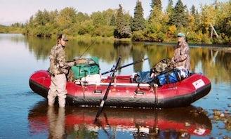 Row Boat Rental & Fishing in Sterling, Alaska!