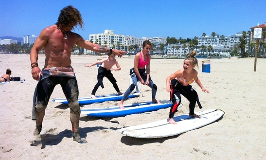 Surf And Stand Up Paddle Board Rental & Lessons In Venice