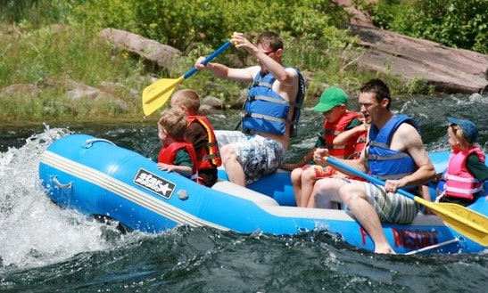Rent A 6 Person River Raft On The Elk River