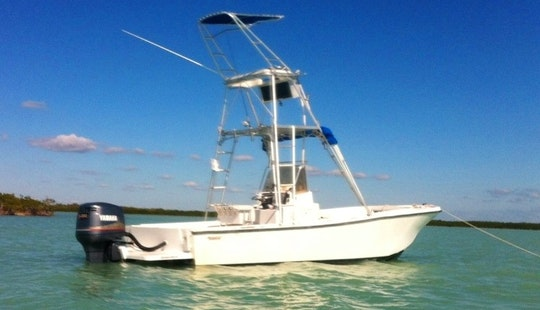 26' Center Console Rental In Tavernier, Fl