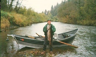 Drift Boat Fishing for 2 Person with Captain John in Springfield, Oregon