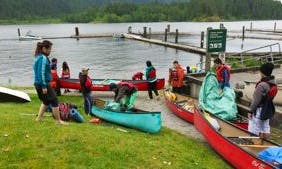 Canoe Rental in North Vancouver