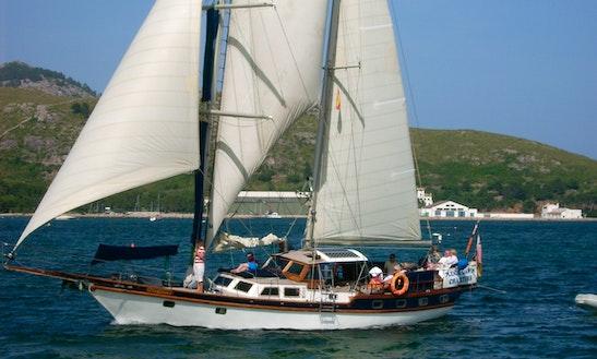 Brigantine Charter In Mallorca