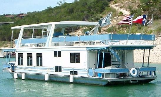 60' Luxury Houseboat Charter On Lake Travis