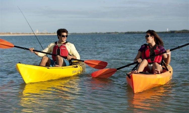 Kayak Rental in Treasure Island, Florida
