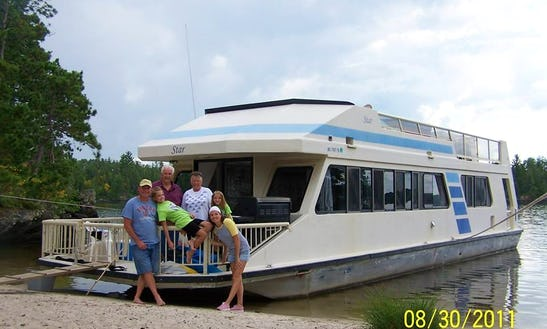 Sunseeker 540 Houseboat Rental In Crane Lake