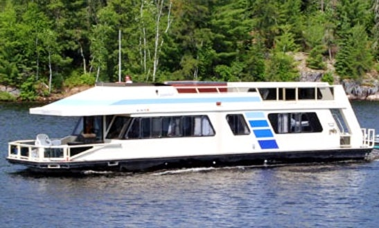 Sunseeker 570 Houseboat Rental In Crane Lake