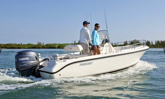 18ft Pursuit Center Console Boat Rental In Mattituck, New York