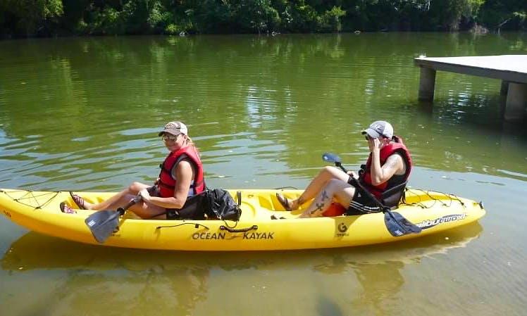 Explore Waco, Texas on a Tandem Kayak