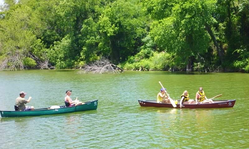 Rent a Gorgeous 2 Person Canoe in Waco, Texas