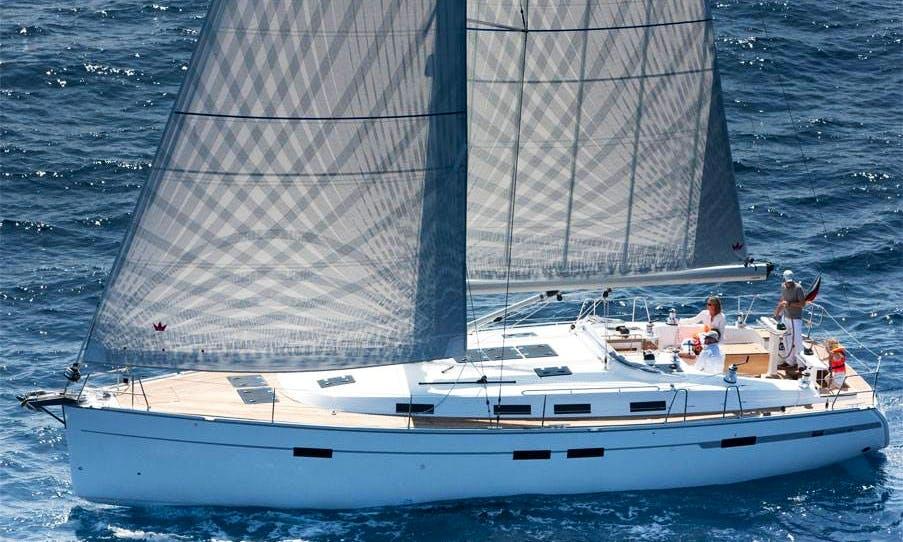 Charter Bavaria 45 Cruiser in Levkas, Greece