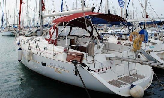 Beneteau Oceanis 411 Yacht Charter In Levkas, Greece