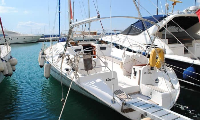 44' Atlantic Yacht Charter in Levkas, Greece