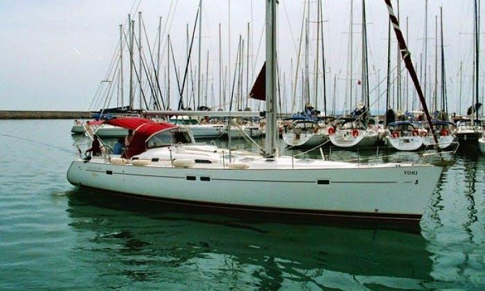 Charter Beneteau Oceanis 473 in Levkas, Greece