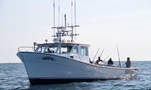 45' Provincial Tuna Fishing Charter in Souris