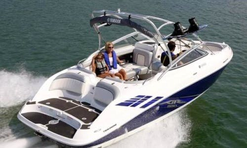 Yamaha AR230 Ski/Wake Boat Captained Charter in Merkel, Texas